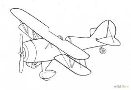 Airplane Drawing Drawings Of Old Airplanes
