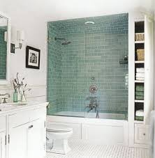 Small Bathroom Designs With Shower Or Bathtub Shower Combos : Small Bathroom  With Corner Shower Area