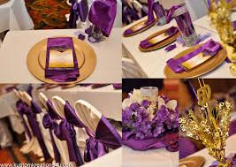 Gold Birthday Decorations Purple And Gold Party Kustom Kreations
