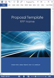 Ms Word Page Designs Proposal Templates 10 X Ms Word Designs 2 X Excel