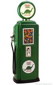 Gas Pump Vending Machine Interesting Sinclair 48 Gas Pump Gumball Machine VendingJukeboxesTin