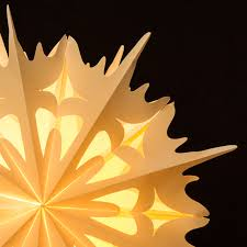 Sikora Fb54 Paper Star Decorative Light 49cm