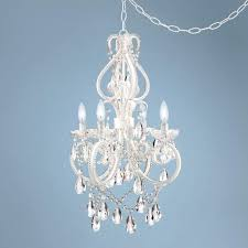 chandeliers chandelier plug in lighting large size of converter