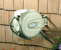wall mounted garden hose reel 40m commercial grade winders reels gar