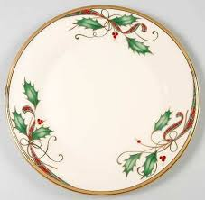 lenox holiday china. Simple China Lenox China Holiday NouveauGold Salad Plate Fine Dinnerware   Product Guides  How To Choose Inside I