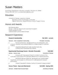 Resume Examples For Psychology Majors Gallery of resume for a business major Resume Examples For 43