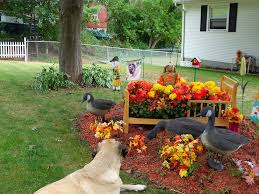 ... Extremely Ideas Front Yard Decorating Fall Garden Decoration Photograph  Decorations G ...