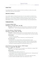 Objective For A Resume Amazing Project Management Objective Resume Objectives Resume Sample With