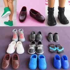 Handmade High Quality <b>10 Pairs</b>/<b>lot</b> Shoes For Boyfriend Ken Doll ...
