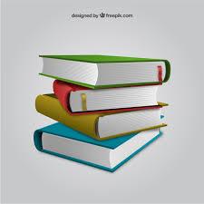 stacked books premium vector