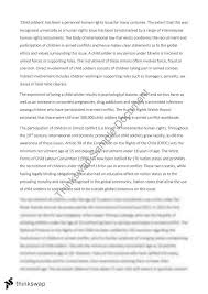 child iers essay year hsc legal studies thinkswap child iers essay