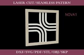 3d Lattice Laser Cut Pattern Nova 1 Graphic By Svastudio Creative Fabrica