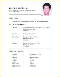 Simple Resume Format 100 simple resume format for students legal resumed 2