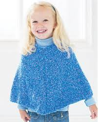 Knit Poncho Pattern Stunning Easy Kids' Knit Poncho FaveCrafts