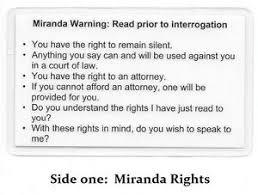 Otherwise, phonetic symbols may not display correctly. Miranda Warning Rights Phonetic Alphabet Card Military Sheriff Police Ebay