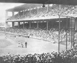 The fist image of wrigley field