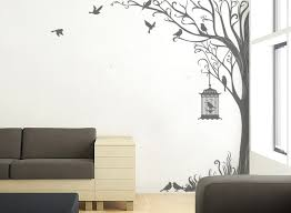 stickers nature on decoration d interieur moderne tree decal wall