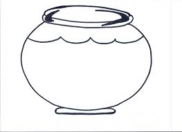 Template of fish bowl clipart - ClipartBarn