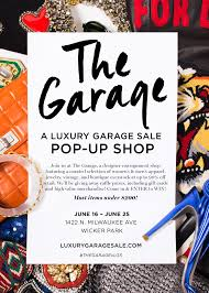 Designer Garage Sale Chicago Graphic Designer Chicago