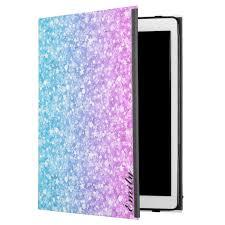 Easyskinz™ is a proud winner of the 2019 queen's award for. Pink Blue Purple Glitter Ipad Pro 12 9 Case Zazzle Com