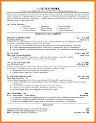 8 Resume Templates For Internships Prefix Chart