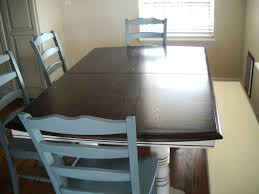 refinish dining room table refinished oak table van brown top refinishing dining room table need