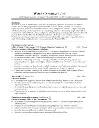 Sample Resume Format Administrative Assistant New Professional