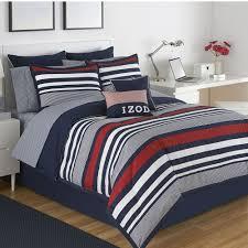 Small Picture Intelligent Design Harper Reversible Comforter Set Blue Duvet