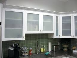 white kitchen cabinets with frosted glass doors some cabinet door designs