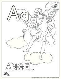 Catholic Abc Coloring Pages By Mothering Wonder Tpt