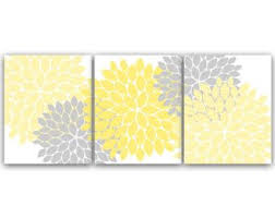 home decor wall art yellow bedroom decor yellow and grey flower burst art 12x12 bathroom wall decor nursery wall art home59 on yellow and grey wall art nursery with home decor wall art yellow bedroom decor yellow and grey flower
