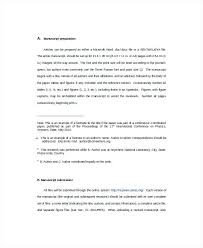 Template Nature Journal Word Template Scientific Nature Journal