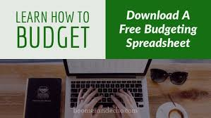 Budgeting Spreadsheet Free Learn How To Budget And Download A Free Budgeting Spreadsheet