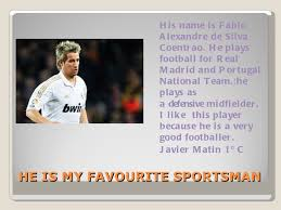 my favourite sporstperson 10 he is my favourite