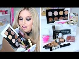 makeup unboxing demo limited edition liveglam x shaaanxo box