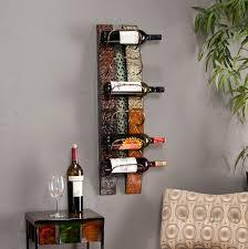 diy wall mounted wine racks