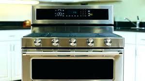kitchenaid induction range specs