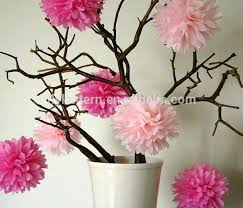 Make Tissue Paper Flower Balls Tissue Paper Decoration Balls Image 0 Tissue Paper Flower Ball
