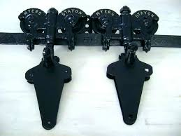 barn door casters contemporary wheels antique hardware trolley bronze sliding bottom pertaining to 16