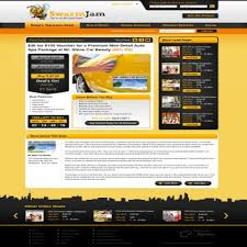 Small Picture Web Page Design Contests SwarmJamcom website facelift Page 1