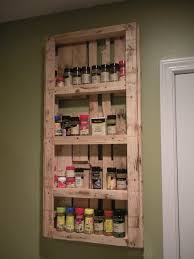 Spice Rack Ideas My Spice Rack Made From Pallets Palletable Designs Pinterest
