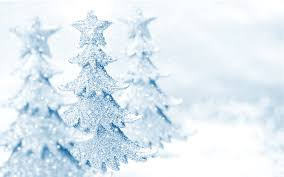Christmas Tree Snow Wallpaper | Christmas Lights Decoration