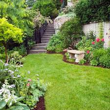 Small Picture Garden Design On A Hill Steep Ideas For Plans Beautiful Decoration