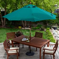 Attractive Outdoor Dining Set with Umbrella bomelconsultcom