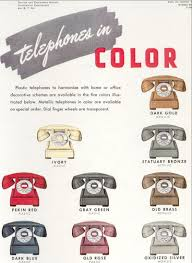 western electric com rotary dial antique western electric model 302 antique telephone color selection brochure