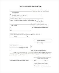 Free Affidavit Form Download Gorgeous Parent Affidavit Form Ceriunicaasl