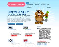 car insurance comparison website design comparison web design carinsurancecap co uk
