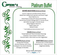 Banquet Tickets Sample Banquet Menu Samples Ten Lessons That Will Teach You All