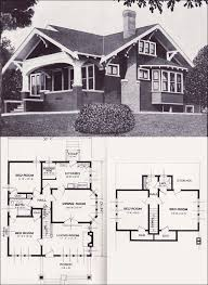 1923 standard homes company the varina ❤ · craftsman