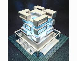 Lego House Plans Arndt Schlaudraff Builds Intricate Brutalist Architecture With Lego